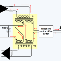 Single Line Telephone Wiring Diagram Cobalt Stereo Hybrid - Wikipedia