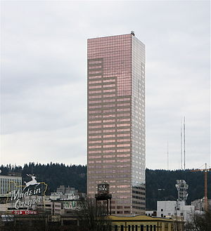 US Bancorp Tower in Portland, Oregon.