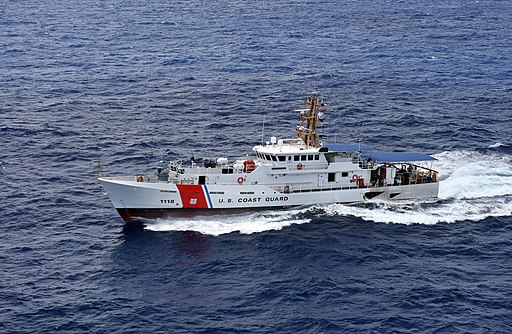USCGC Joseph Tezanos sea trials -b