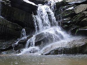 English: Wang Nam Mok Waterfall