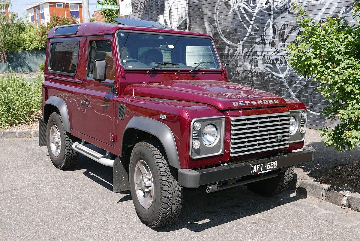 Land Rover Defender  Wikipedia