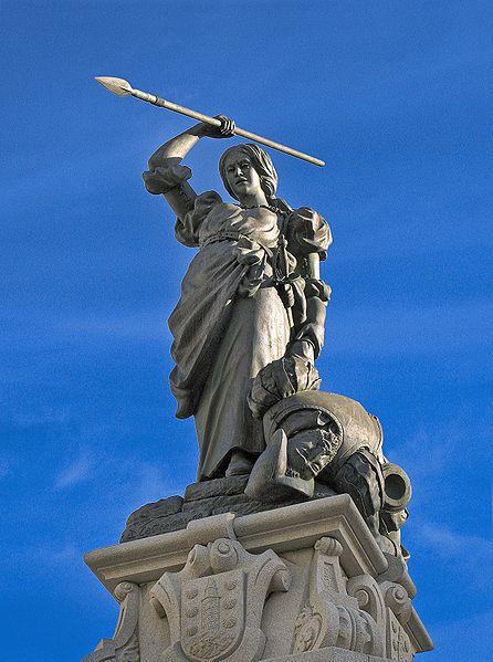 File:A Coruña. María Pita's statue. Galicia (Spain).jpg