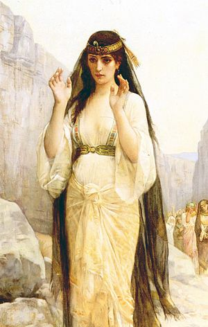 The daughter of Jephthah (1879)