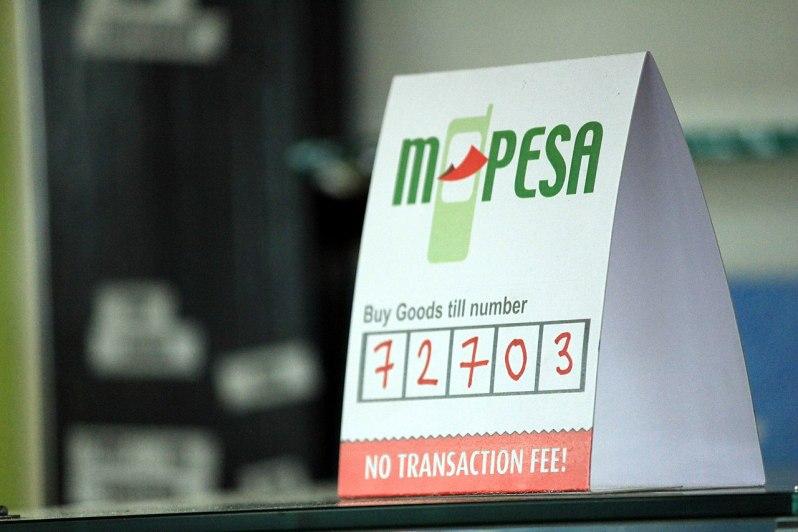 An M-PESA payment