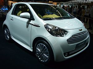 English: Aston Martin Cygnet at AutoRAI Amster...