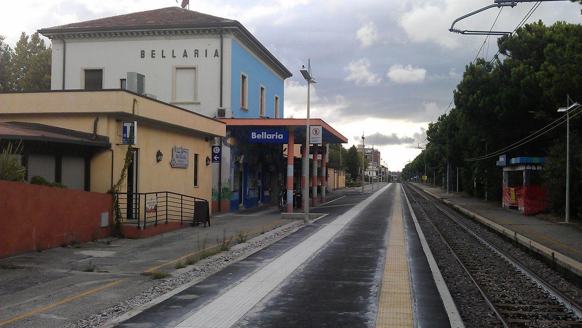 Stazione di Bellaria  Wikipedia