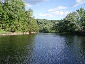 Connecticut River near Colebrook, New Hampshire