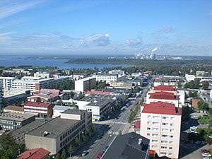 City centre of Kemi, Finland Suomi: Kemin keskusta
