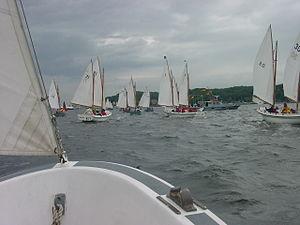 Deutsch: Marinekutterregatta 2003 auf der Kiel...