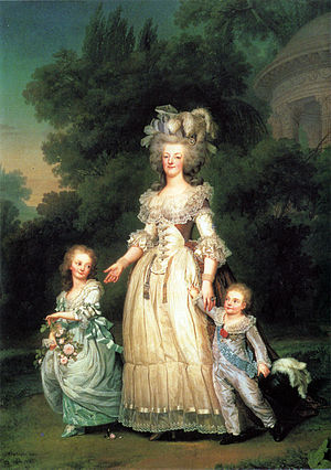 Marie Antoinette and her children