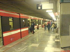 Español: Estación Juárez, Linea 1 del Metro de...