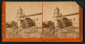 Mission San Luis Rey de Francia, Established J...