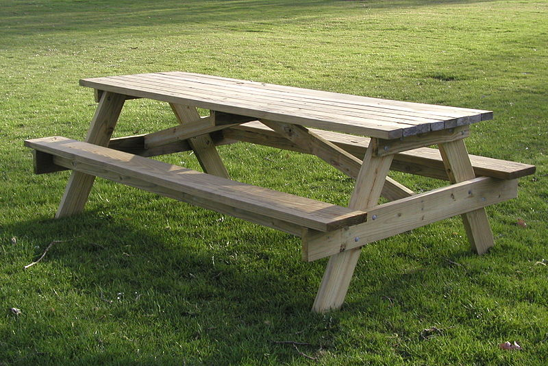 Picnic table, Republican