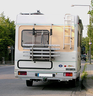 English: Pilote recreational vehicle «R590» us...