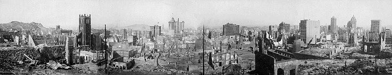 1906 Землетрясение в Сан-Франциско. 100 великих событий ХХ века | 155x800