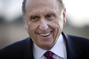 Thomas S. Monson. Photo by Brian Tibbets (tibb...