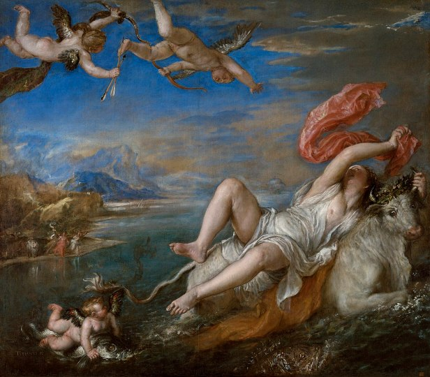 """The Rape of Europa"" by Titian"