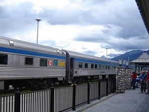 Estación de Jasper, Canadá, Transcanadiense, 2004