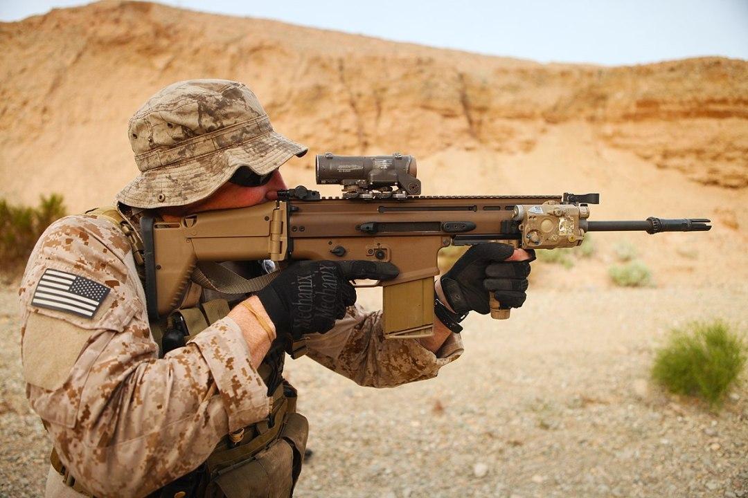 SCAR Mk17 (Image Wikipedia).