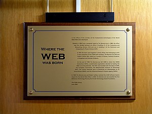 Where the WEB was born.