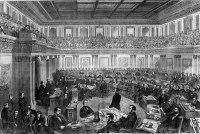File:Andrew Johnson impeachment trial.jpg