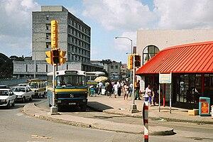 English: Old Barbados Transport Board bus BM32...