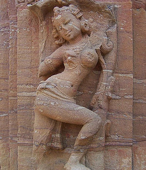 Sculpture of a Dancing Girl, Bubaneshwar