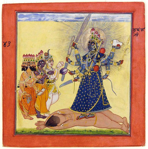 Kali Devi Tantra Goddess