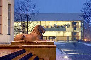 English: Halle/Germany Universitätsplatz Deuts...