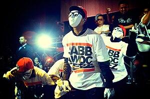 The jabbawockeez: a hip-hop dance crew from Ca...