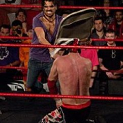 Steel Chair In Wrestling Baby Bjorn High Red And Black Professional Attacks Wikipedia Shot