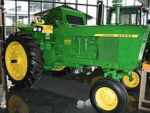 English: John Deere 4010 Diesel (model manufac...