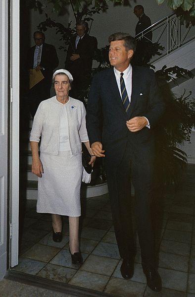 File:Kennedy-Golda Meir.jpg