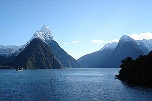 New Zealand's Milford Sound. Milford Sound, on...