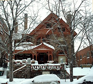 The Molly Brown House Museum in Denver, Colora...