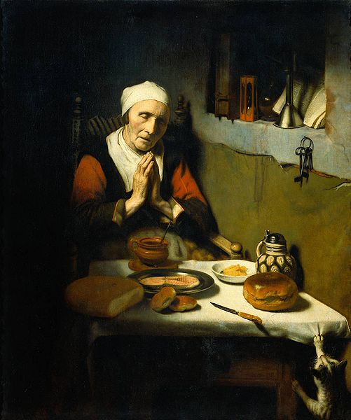File:Nicolaes Maes - Oude vrouw in gebed.jpg
