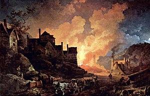 Coalbrookdale at night