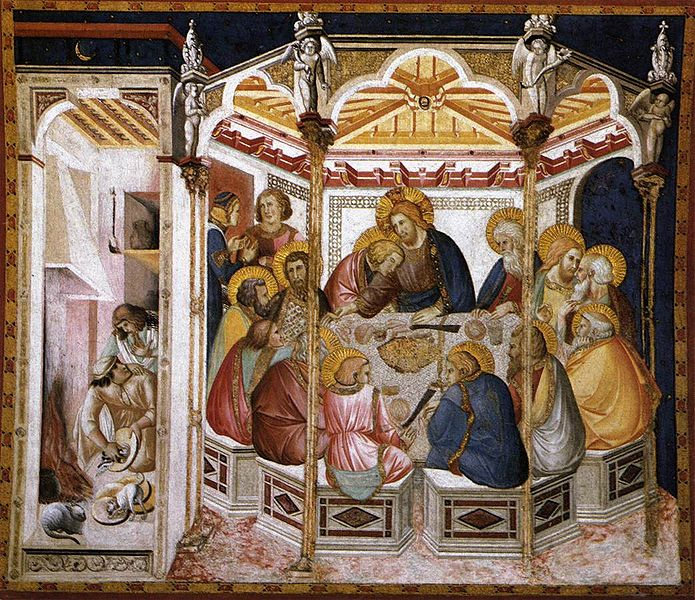 File:Pietro lorenzetti, ultima cena, assisi basilica inferiore, 1310-1320.jpg
