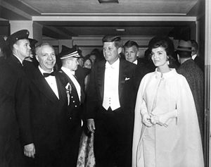 AR6281-D. President John F. Kennedy and First ...