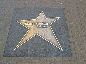 Łódź Walk of Fame - Roman Polański (Roman Pola...