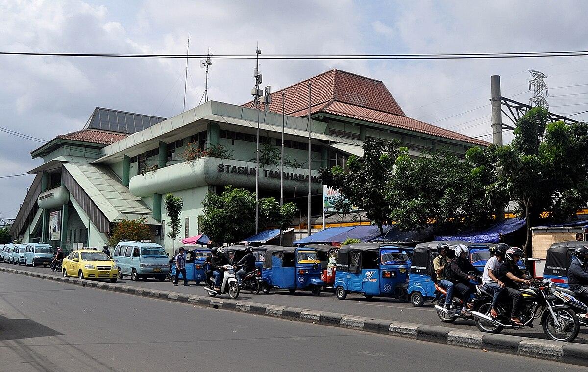 Tanah Abang railway station - Wikipedia