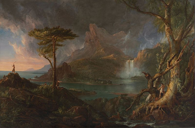 File:Thomas Cole A Wild Scene.jpg