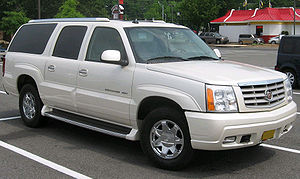2003-2006 Cadillac Escalade photographed in US...