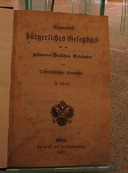 Allgemeines B 252 Rgerliches Gesetzbuch Wikipedia