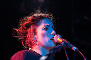 Amanda Palmer performing with The Dresden Doll...