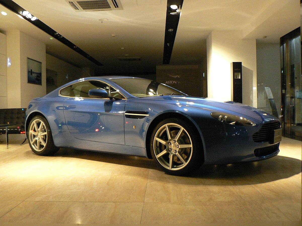 Aston Martin Vantage  Wikipedia la enciclopedia libre