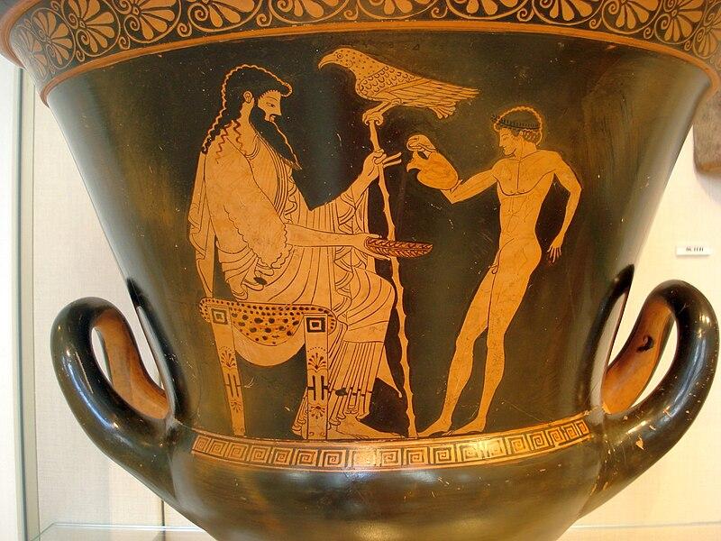 Ganymede and Zeus