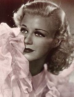 Promotional photo of Ginger Rogers for Argenti...