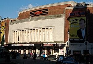 Hammersmith Apollo exterior, front