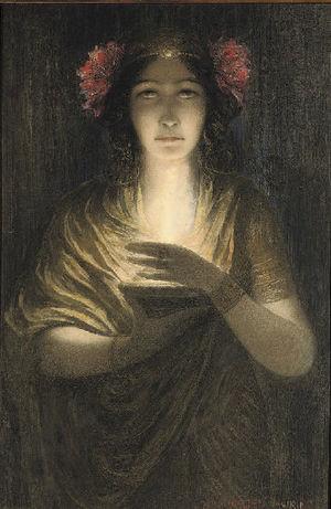 English: The Priestess